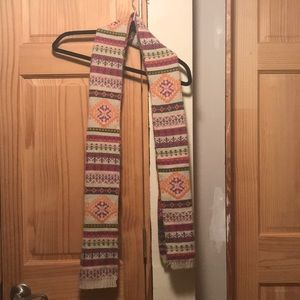Accessories - Colorful tribal scarf